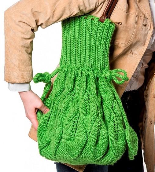 Zelená kabelka s listy   JaroslavaDovcova - SAShE.sk - Handmade ... 1cb2901c936