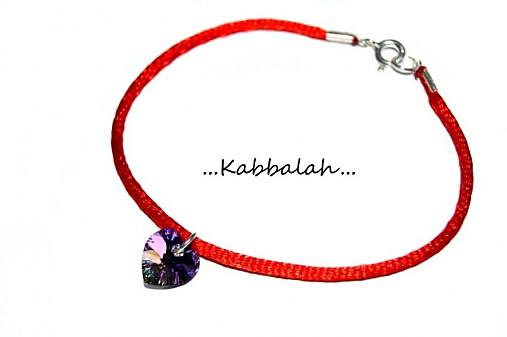 kabbalah náramok 925 striebro + swarovski ♥ podľa výberu