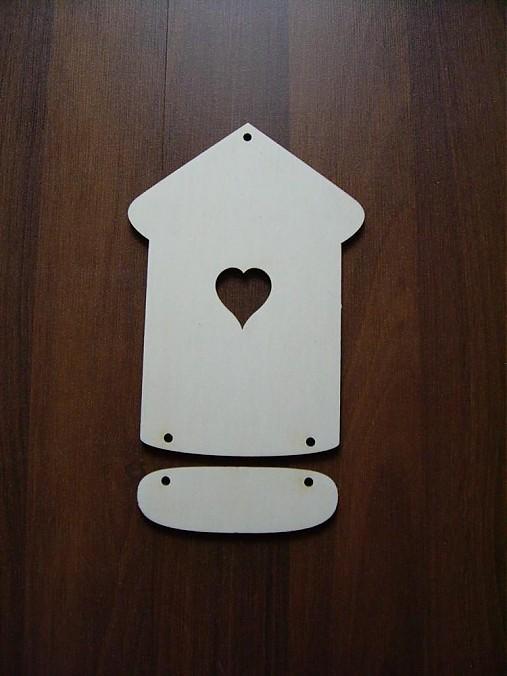 Tabuľka na dvere - domček 1