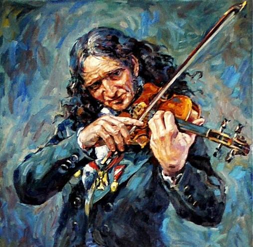 Reprodukcia - Paganini