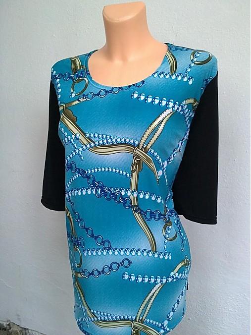 1e8b57d6e21 Maxi tričko-poklady moře   Romaana - SAShE.sk - Handmade Tričká