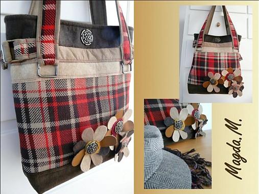 Károvaná kabelka