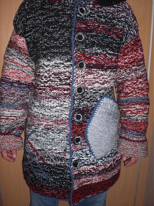 32c719bca043 Pánsky pletený sveter   IvaVa - SAShE.sk - Handmade Svetre Pulóvre
