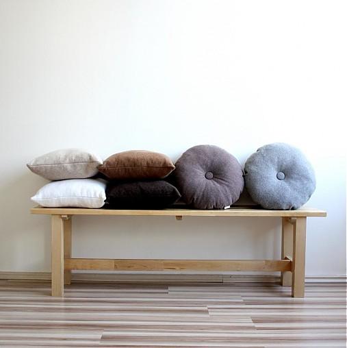 Pure cashmere interiérové vankúše zo 100% kašmíru
