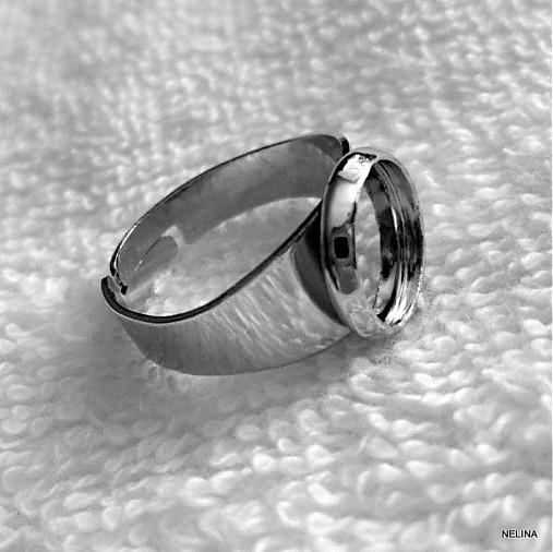 Prsteň s lôžkom-1ks