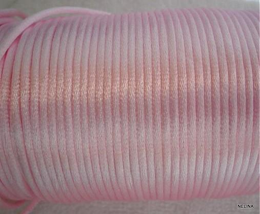 Saténová šnúra 2mm-1m