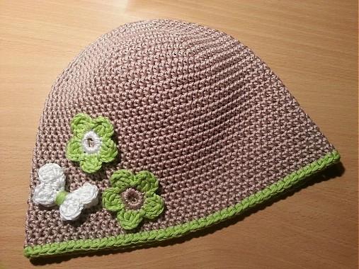 a2dc84b48 Jarná / letná čiapočka (100% bavlna) / TATRY-handmade - SAShE.sk ...