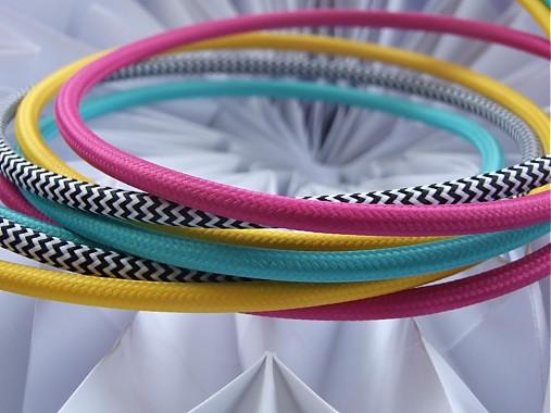 Textilné elektrické káble