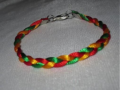 c63baf7d2 Reggae náramok :) / 15Eruska - SAShE.sk - Handmade Náramky