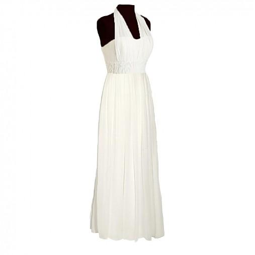 Spoločenské šaty korzet a jemný šifón okolo krku   Dyona - SAShE.sk ... f671688b807