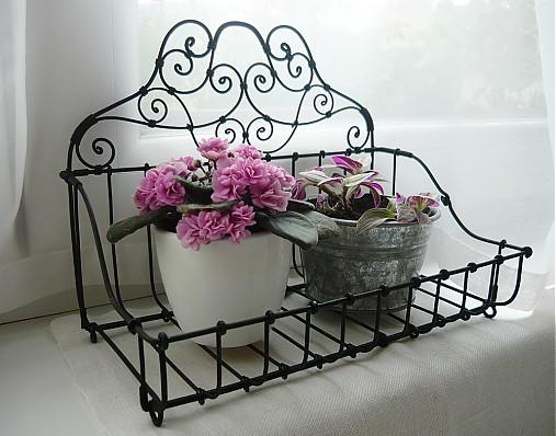 košík na kvetináče