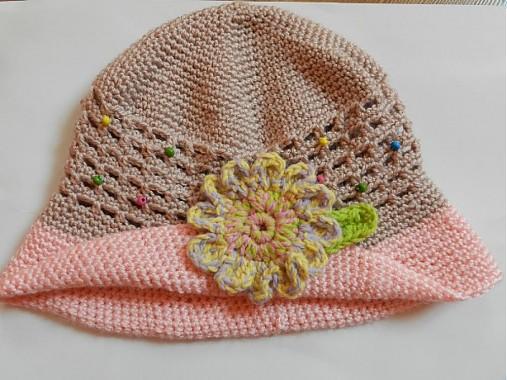 919039b64 Háčkované klobúčiky - deti / zdenki - SAShE.sk - Handmade Detské čiapky