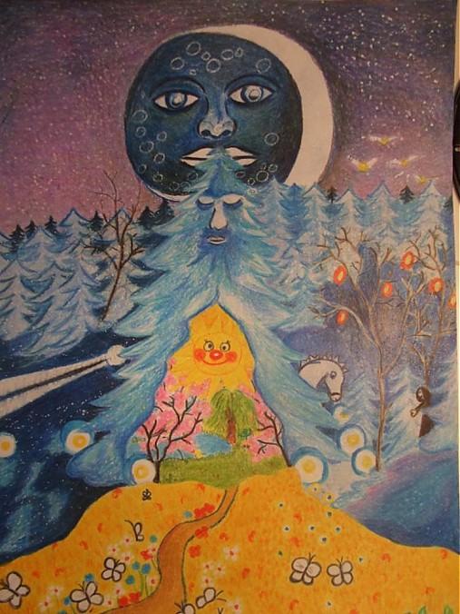 Rozpravkovy Svet Ivullllinka Sashe Sk Handmade Kresby