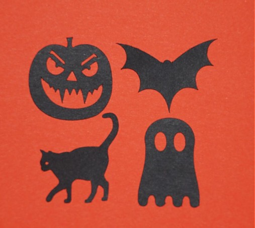 Halloween sada 3 (4 ks)