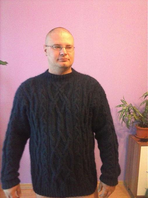 8914804e325 Pánsky pulover na mieru   terai - SAShE.sk - Handmade Svetre Pulóvre