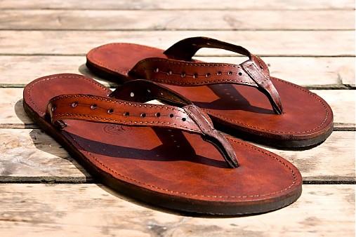 957119fe8569 Kožené sandále Jenny   Hippiestyle - SAShE.sk - Handmade Obuv