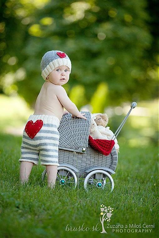 Detské súpravy - pásikový setík  - 2757984