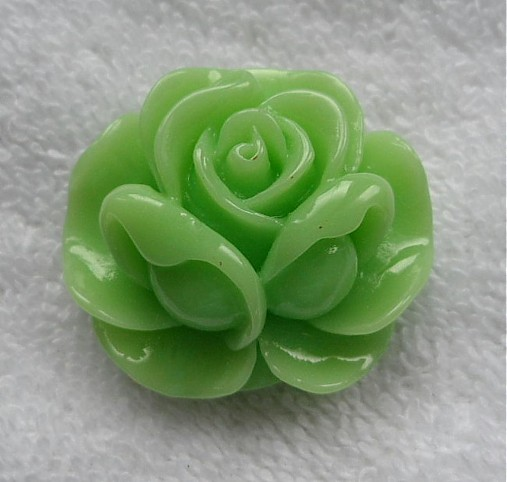 Kvet plast/kabošon 36x16mm-1ks