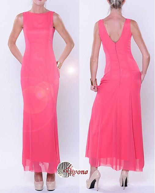 Šifónové šaty Morská panna rôzne farby   Dyona - SAShE.sk - Handmade ... 5e74c2f2574