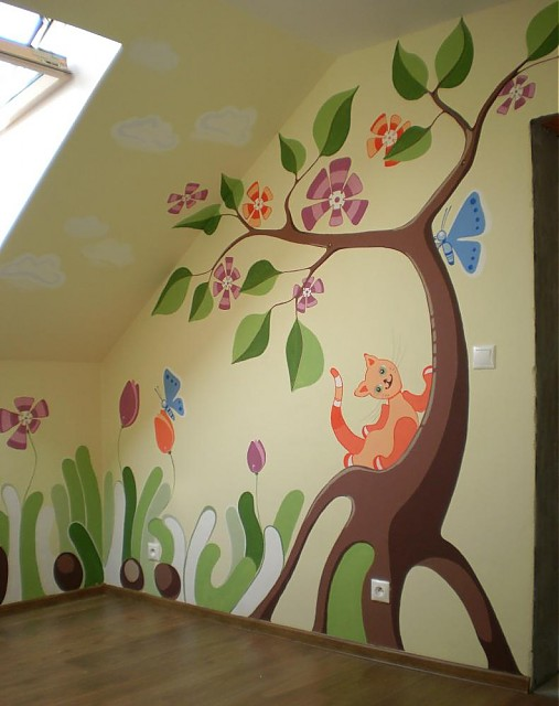 Maľba Na Stenu E Keramika Sashe Sk Handmade Dekoracie