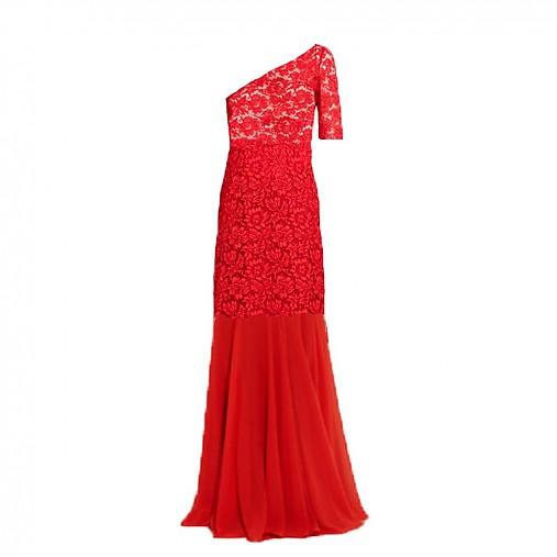 d72222657b05 Krajkové spoločenské šaty Flame na jedno plece   Dyona - SAShE.sk ...