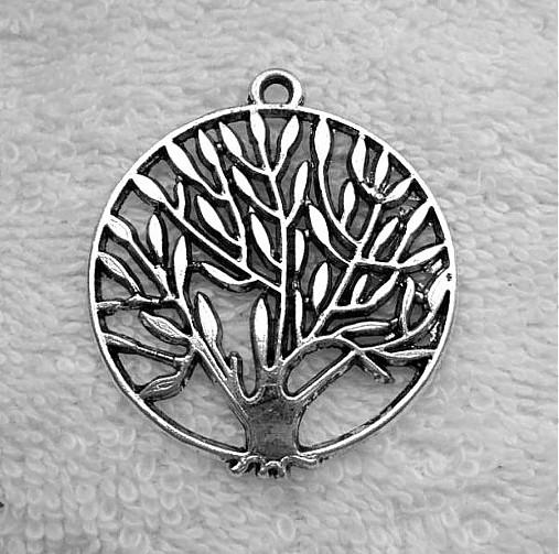 Kovový prívesok-strom-1ks