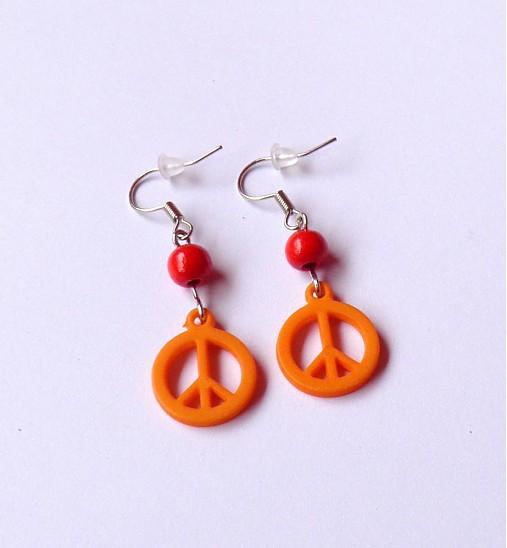 2b8cdf713 Orange hippie / krajstusko - SAShE.sk - Handmade Náušnice