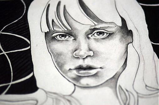 Druha Tvar Persefony Original Kresba Jane Beata Sashe Sk