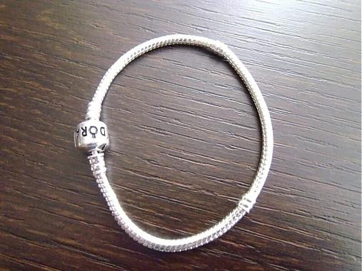 d038f8d0c Pandora strieborný náramok / Diana.zar - SAShE.sk - Handmade Náramky