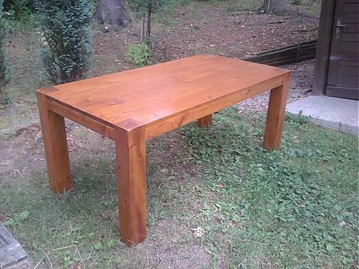 e0f14d4cd708 Stôl jedálenský z masívneho smreku   Janulik123 - SAShE.sk ...