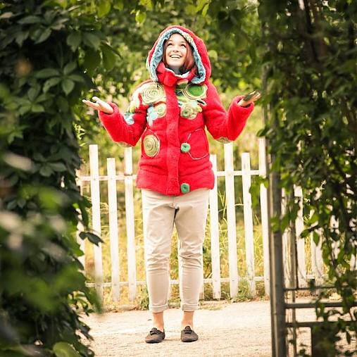 Origo mikino bunda 7 - zlatová   IngK - SAShE.sk - Handmade Svetre ... 8bfa87bcf48