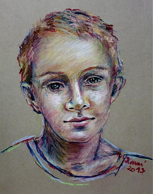 portret pastel