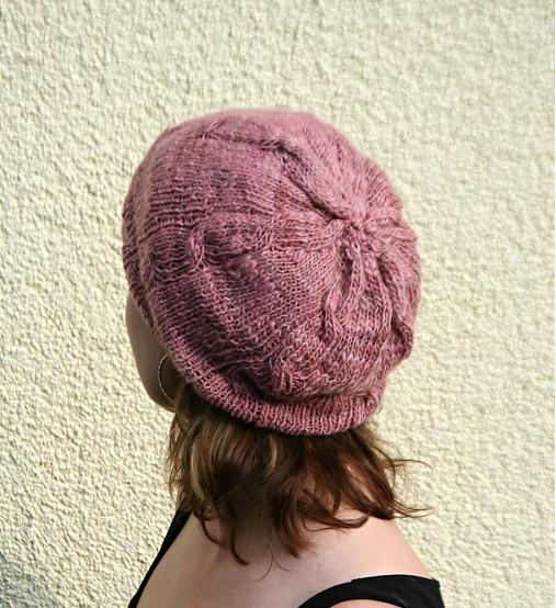 6e642740115 Ručně předená melírovaná čepice z merino vlny   pletena-tvorba ...