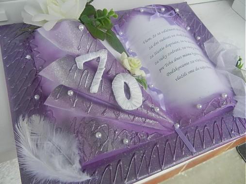 Darek k 70 narodeninm Netradin dareky, originlne