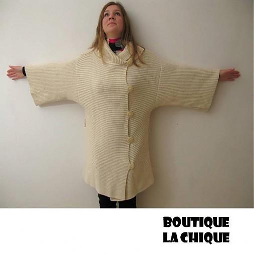 Pletený kabát - SLEVA 50%   BLeCHi - SAShE.sk - Handmade Kabáty 71f689eac57