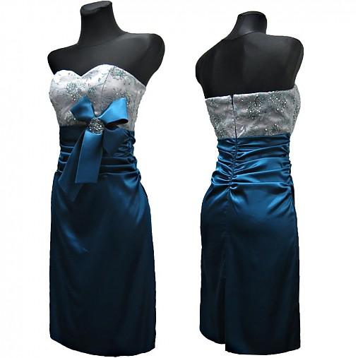 Spoločenské šaty s tylovou krajkou   Dyona - SAShE.sk - Handmade Šaty 73dee0159ef