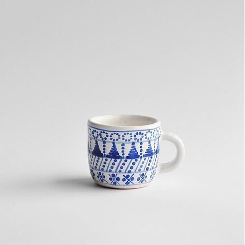Nádoby - šálka malá modranska - 3106327