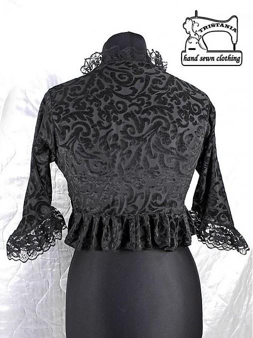 0938552342ec Bolerko pre spoločenské šaty aj korzet 0030   Gothic Burlesque ...