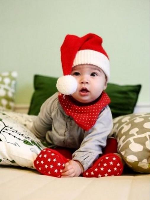 ea1dd9262 Vianočná čiapka / tinylittlestitches - SAShE.sk - Handmade Detské čiapky