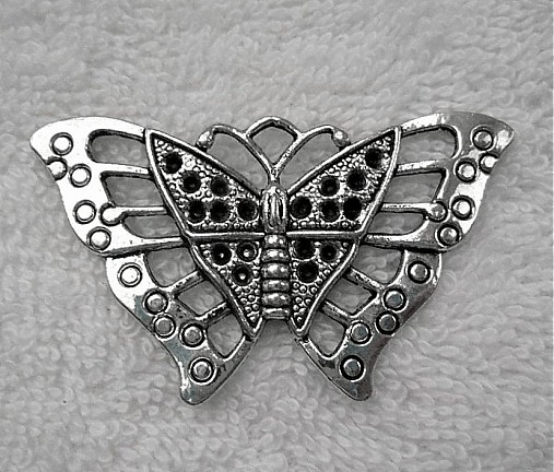 Motýľ filigrán 35x55mm-plat-1ks