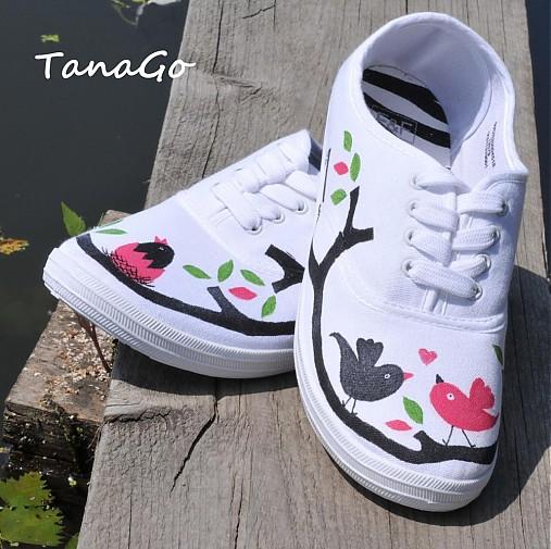 9921dcbf2f Vtáčie láska   TanaGo - SAShE.sk - Handmade Obuv