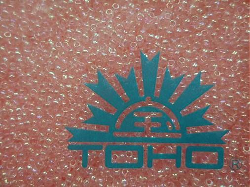 TOHO round transparent 11/0=2,2mm-10g