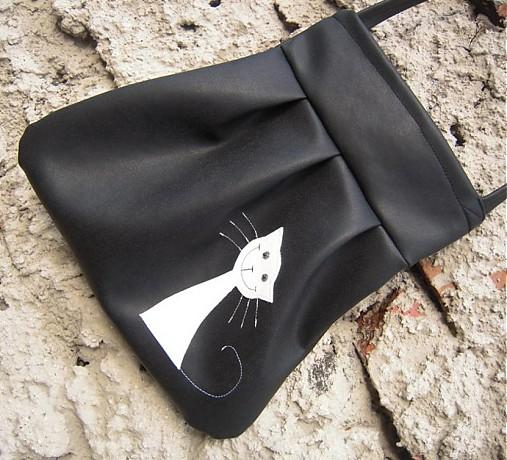 e88988d463 čiernobiela mačka   Amalia - SAShE.sk - Handmade Kabelky