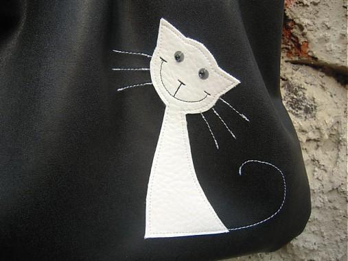 f3d38114ab2 čiernobiela mačka   Amalia - SAShE.sk - Handmade Kabelky