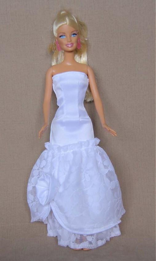 Honosné svadobné šaty pre Barbie   TrishaFate - SAShE.sk - Handmade ... cd4156b57c7