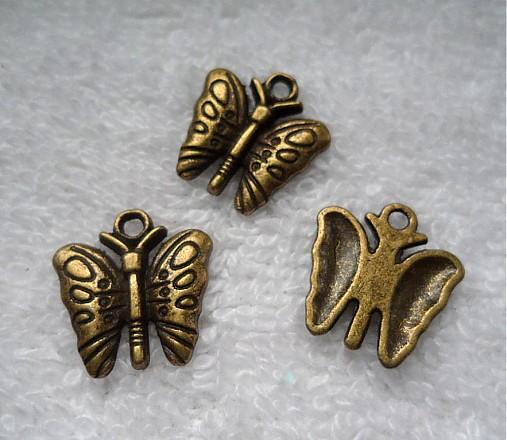 KPrív-motýľ 14x15mm-st.mos-1ks