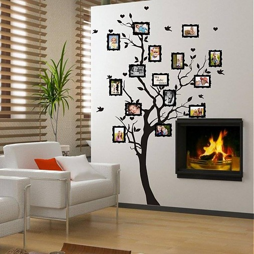 Strom pre rodokme pre fotky 9x13cm artsablony handmade dekor cie - Pochoir pour peinture murale ...