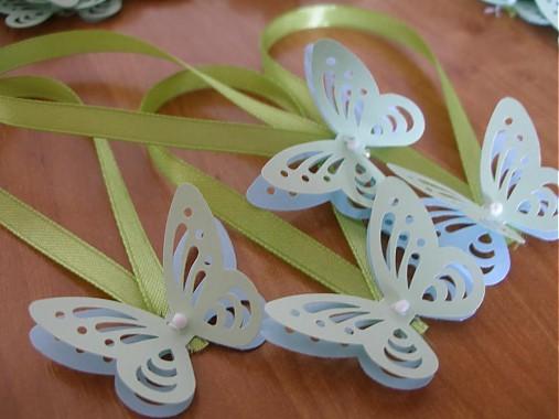 Ozdoby na svadobné flaše - 3D motýle   Cheftin - SAShE.sk - Handmade ... e500e3ff600