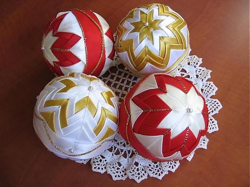 40022441c Vianočné patchwork gule / armas - SAShE.sk - Handmade Dekorácie