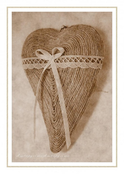 bd74729c1 Vintage srdce / kattika82 - SAShE.sk - Handmade Dekorácie